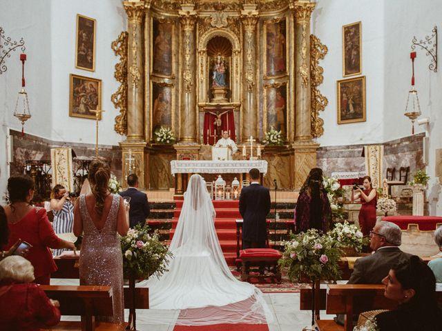 La boda de José Antonio y Salomé en Corte De Peleas, Badajoz 29