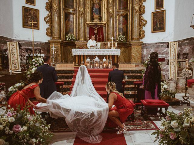 La boda de José Antonio y Salomé en Corte De Peleas, Badajoz 36