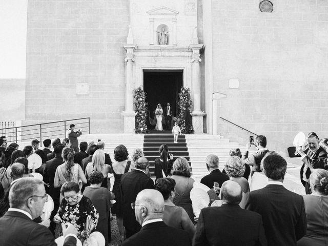 La boda de José Antonio y Salomé en Corte De Peleas, Badajoz 38