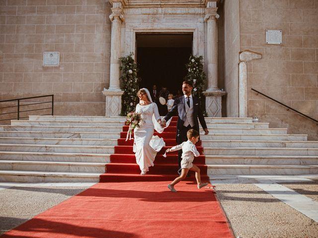 La boda de José Antonio y Salomé en Corte De Peleas, Badajoz 41