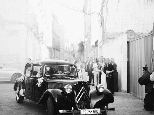 La boda de José Antonio y Salomé en Corte De Peleas, Badajoz 42