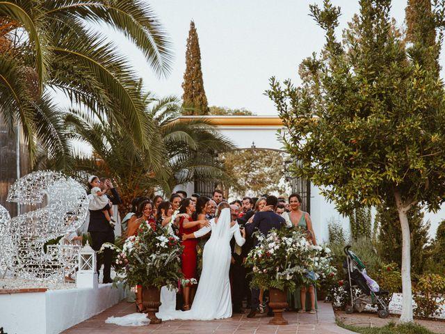 La boda de José Antonio y Salomé en Corte De Peleas, Badajoz 51