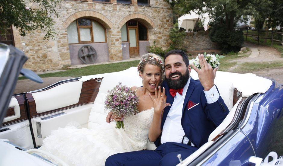 La boda de Sandra y Marcos en Besalu, Girona