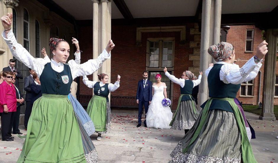 La boda de Isusko  y Erika en Leioa, Vizcaya
