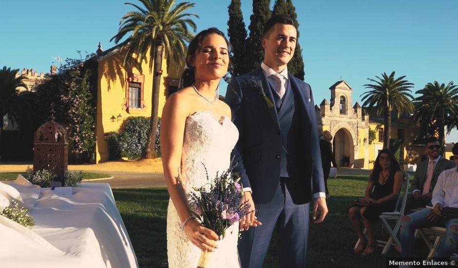 La boda de Víctor y Jessica en Fuentes De Andalucia, Sevilla