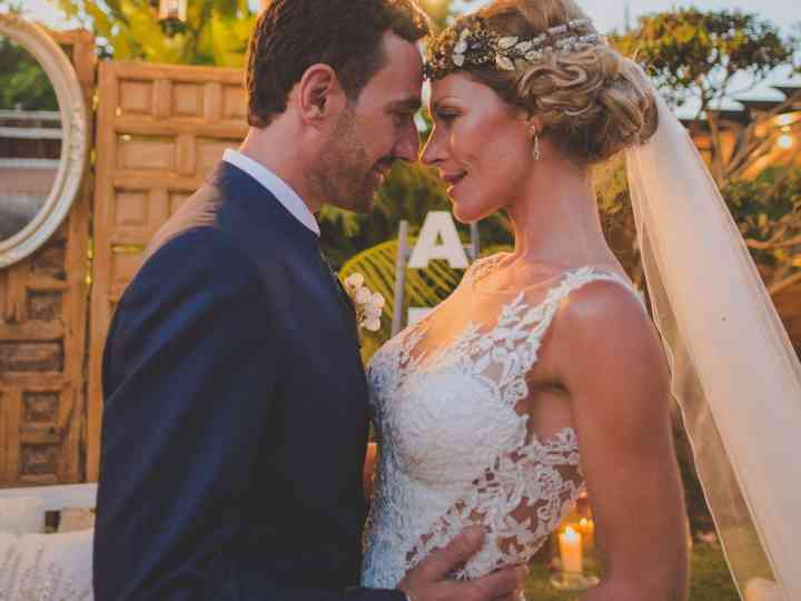 La boda de Lyndsay y Iván