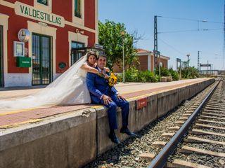 La boda de Virginia  y Eduardo