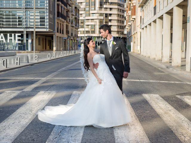 La boda de Alberto y Clara en Elx/elche, Alicante 1