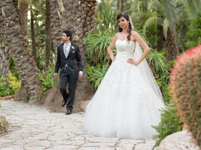 La boda de Alberto y Clara en Elx/elche, Alicante 13