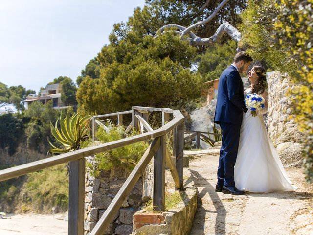 La boda de Javi y Marina en Platja D'aro, Girona 61