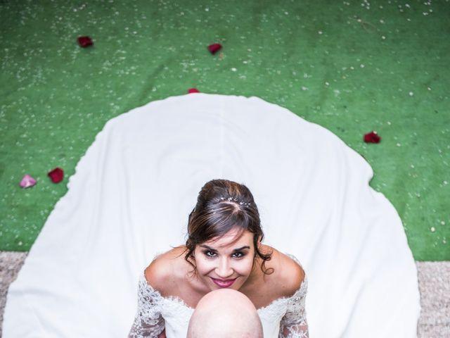 La boda de David y Bea en Chinchon, Madrid 25