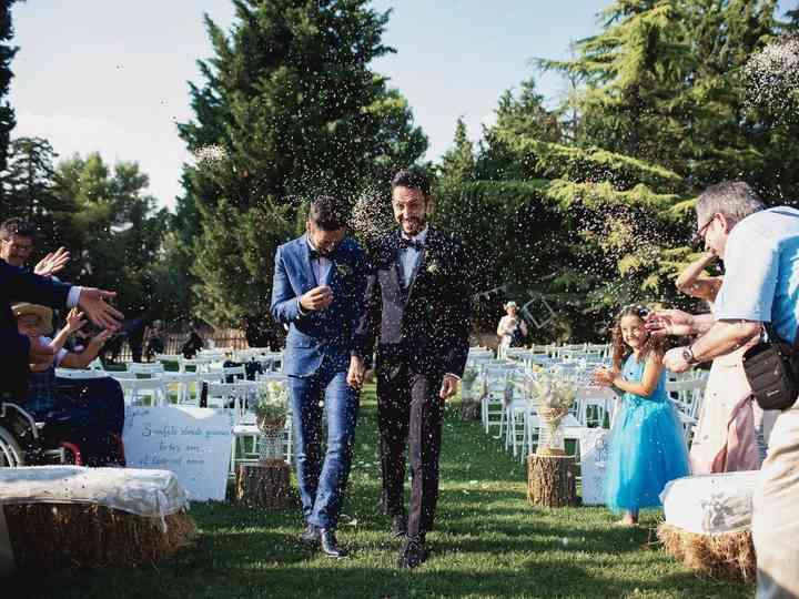 La boda de Francesco y Toni