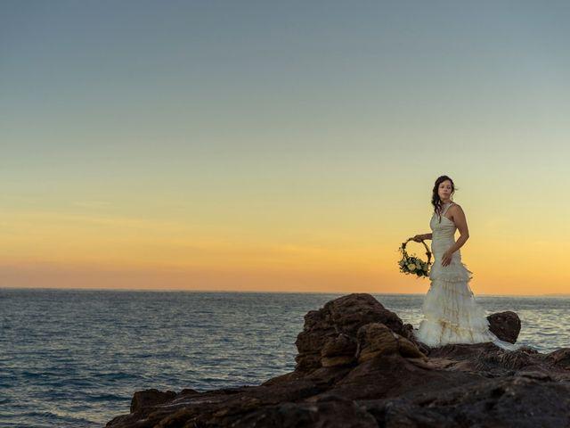 La boda de Gustavo y Inés en La/villajoyosa Vila Joiosa, Alicante 13