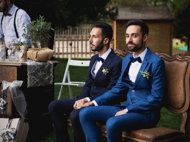 La boda de Toni y Francesco en Rubio, Barcelona 2