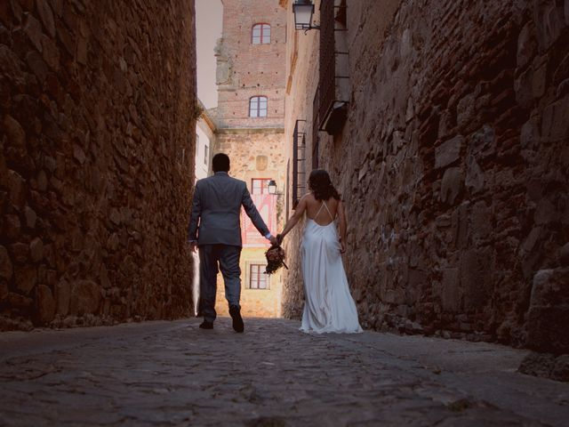 La boda de Jorge y Judit en Cáceres, Cáceres 26