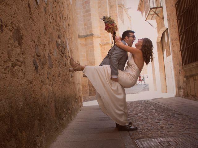 La boda de Jorge y Judit en Cáceres, Cáceres 35