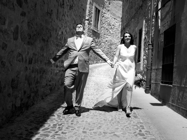 La boda de Jorge y Judit en Cáceres, Cáceres 36