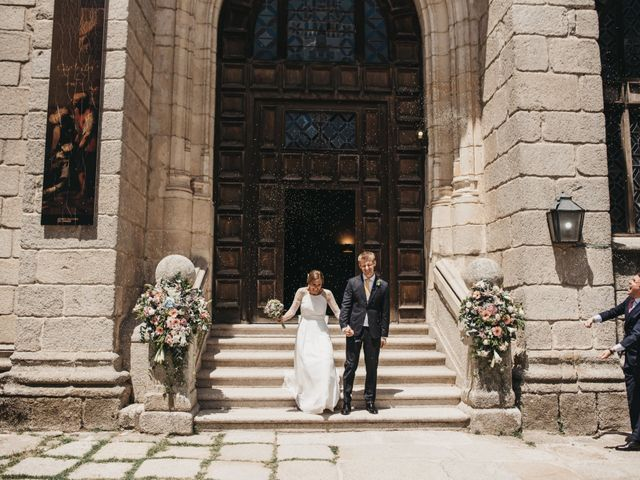 La boda de Santi y María en Rascafria, Madrid 19