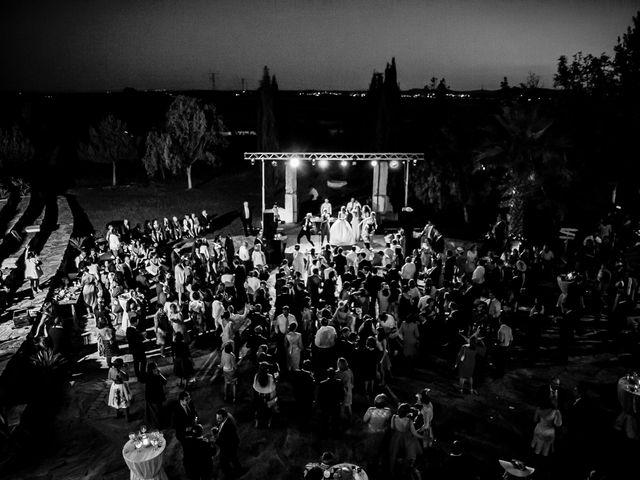 La boda de Jose y Raquel en Salvatierra De Los Barros, Badajoz 43