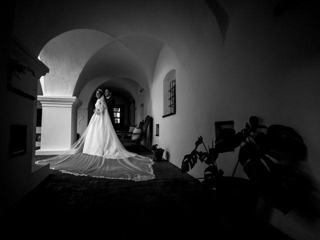 La boda de Jose y Raquel en Salvatierra De Los Barros, Badajoz 45