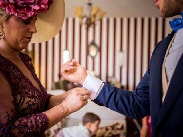 La boda de Antonio Luis y Carmen en La Parra, Badajoz 12