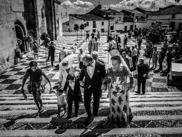 La boda de Antonio Luis y Carmen en La Parra, Badajoz 15
