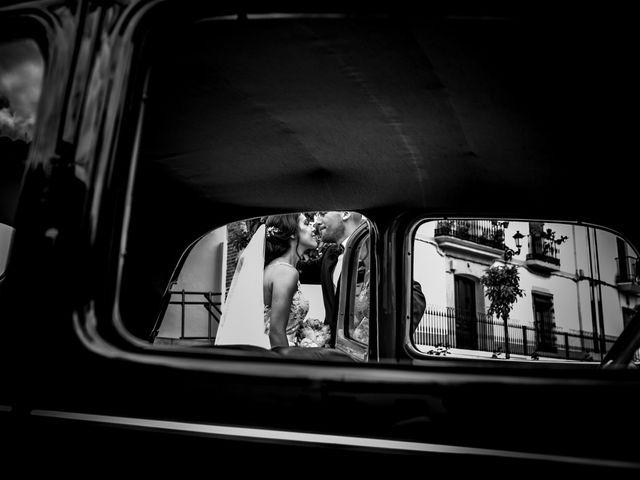 La boda de Antonio Luis y Carmen en La Parra, Badajoz 1