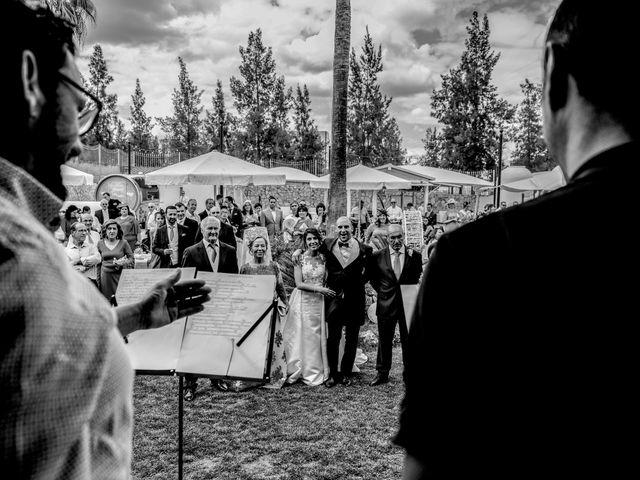 La boda de Antonio Luis y Carmen en La Parra, Badajoz 21