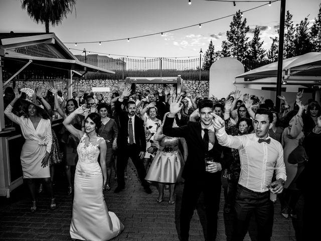 La boda de Antonio Luis y Carmen en La Parra, Badajoz 35