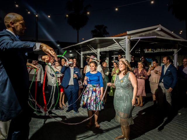 La boda de Antonio Luis y Carmen en La Parra, Badajoz 41
