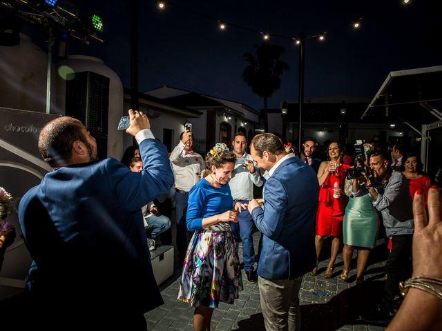 La boda de Antonio Luis y Carmen en La Parra, Badajoz 43