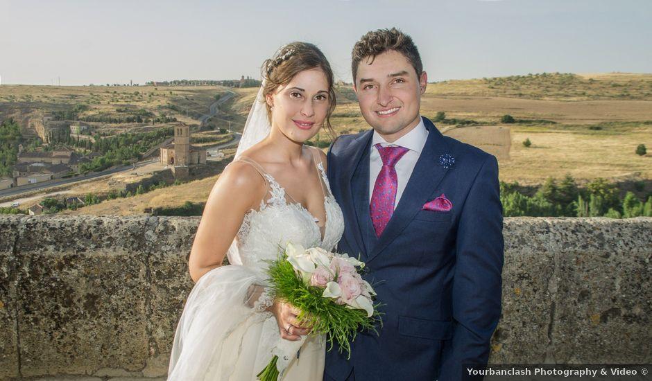 La boda de Valeriano y Sandra en Segovia, Segovia