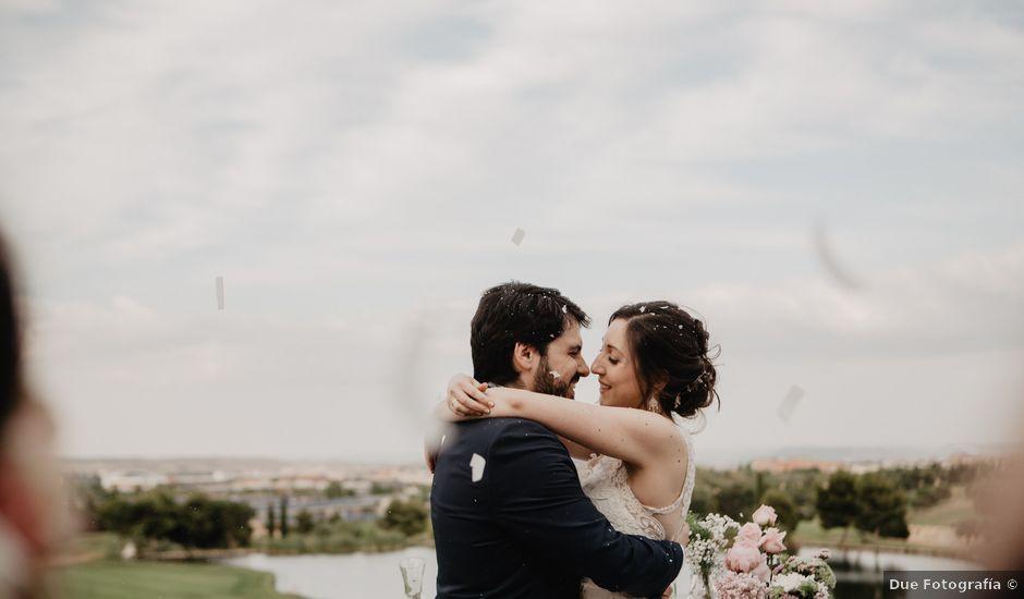 La boda de Borja y Elena en Madrid, Madrid