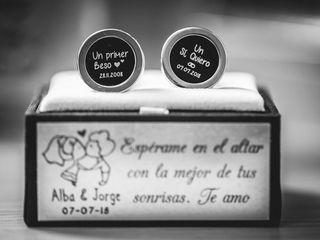La boda de Alba y Jorge 1