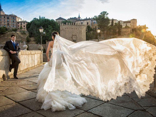 La boda de Oscar y M. Jose en Mora, Toledo 1