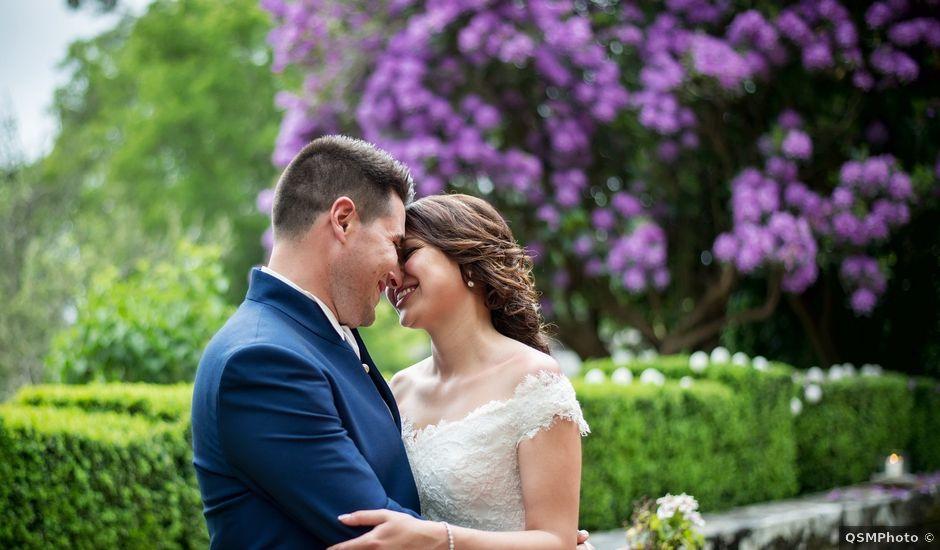 La boda de Pablo y Johana en Moraña (San Lourenzo), Pontevedra