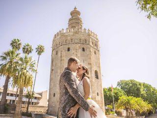 La boda de Adrián y Rocío