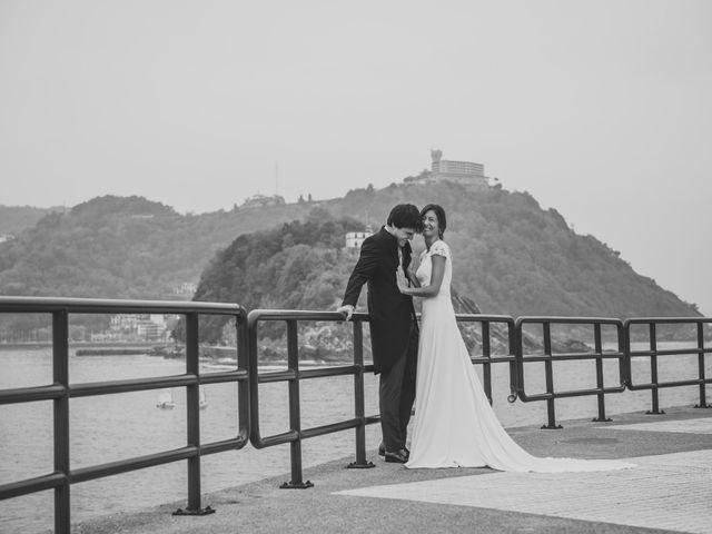 La boda de Borja y Amaia en Donostia-San Sebastián, Guipúzcoa 54