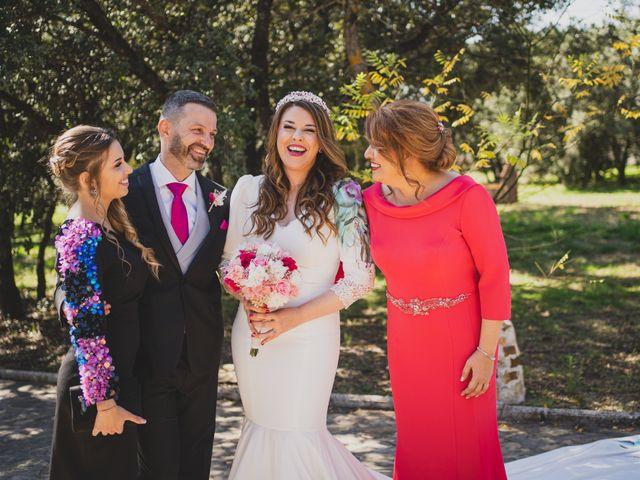 La boda de Alberto y Rosa en Mangiron, Madrid 104