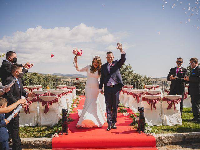 La boda de Alberto y Rosa en Mangiron, Madrid 139
