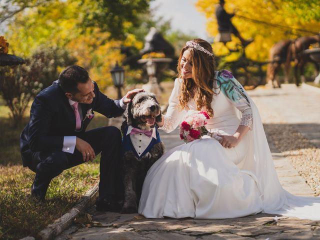 La boda de Alberto y Rosa en Mangiron, Madrid 149