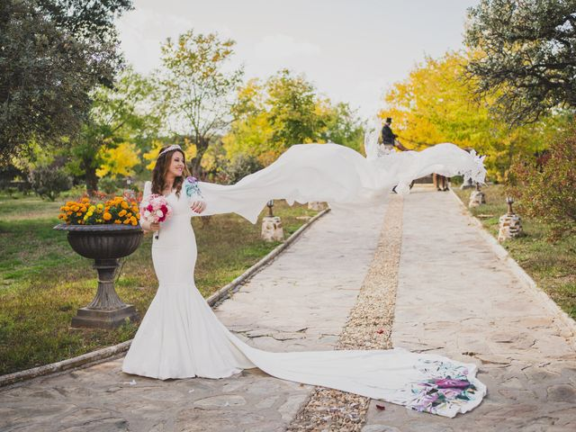 La boda de Alberto y Rosa en Mangiron, Madrid 151