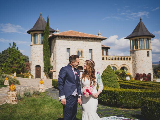 La boda de Alberto y Rosa en Mangiron, Madrid 175