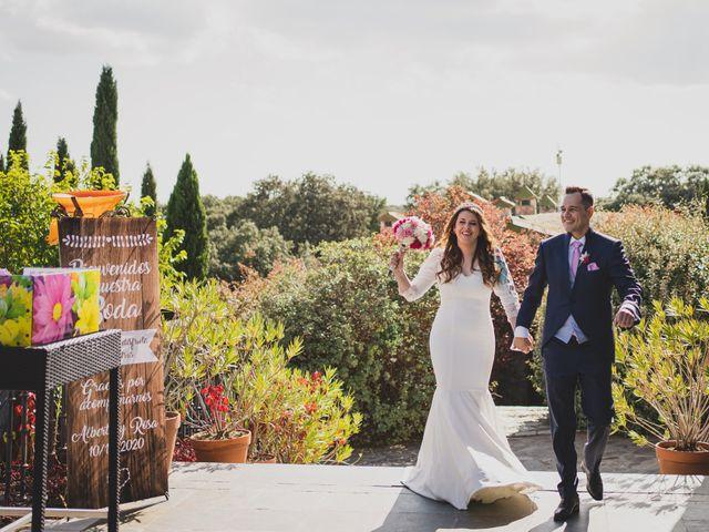 La boda de Alberto y Rosa en Mangiron, Madrid 186