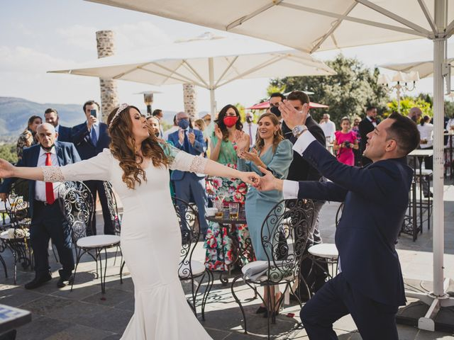 La boda de Alberto y Rosa en Mangiron, Madrid 203