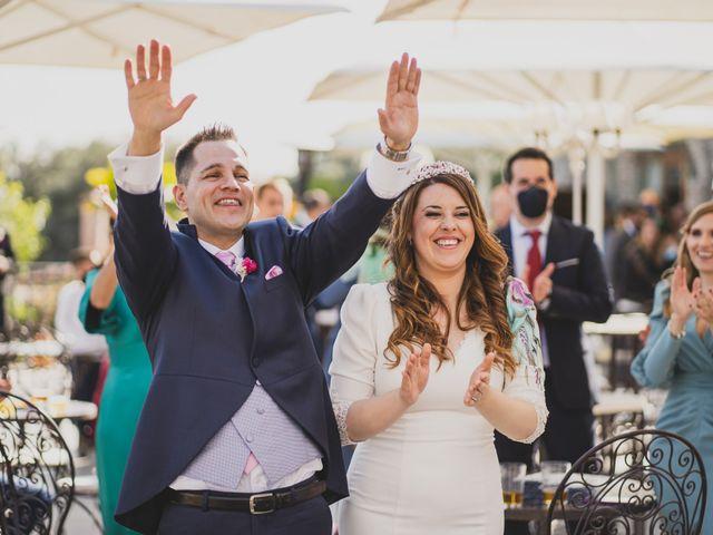 La boda de Alberto y Rosa en Mangiron, Madrid 207
