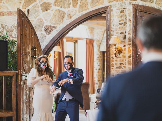 La boda de Alberto y Rosa en Mangiron, Madrid 219