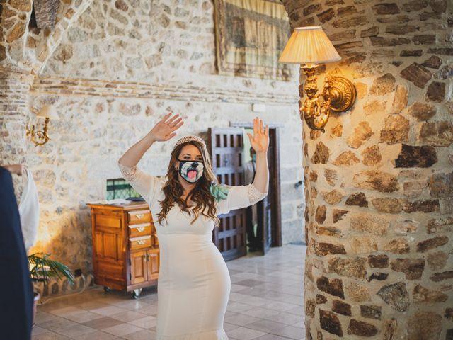 La boda de Alberto y Rosa en Mangiron, Madrid 222