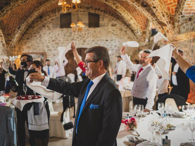 La boda de Alberto y Rosa en Mangiron, Madrid 226