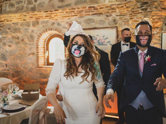 La boda de Alberto y Rosa en Mangiron, Madrid 231